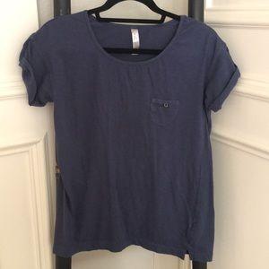 Zara Trafaluc short sleeve top